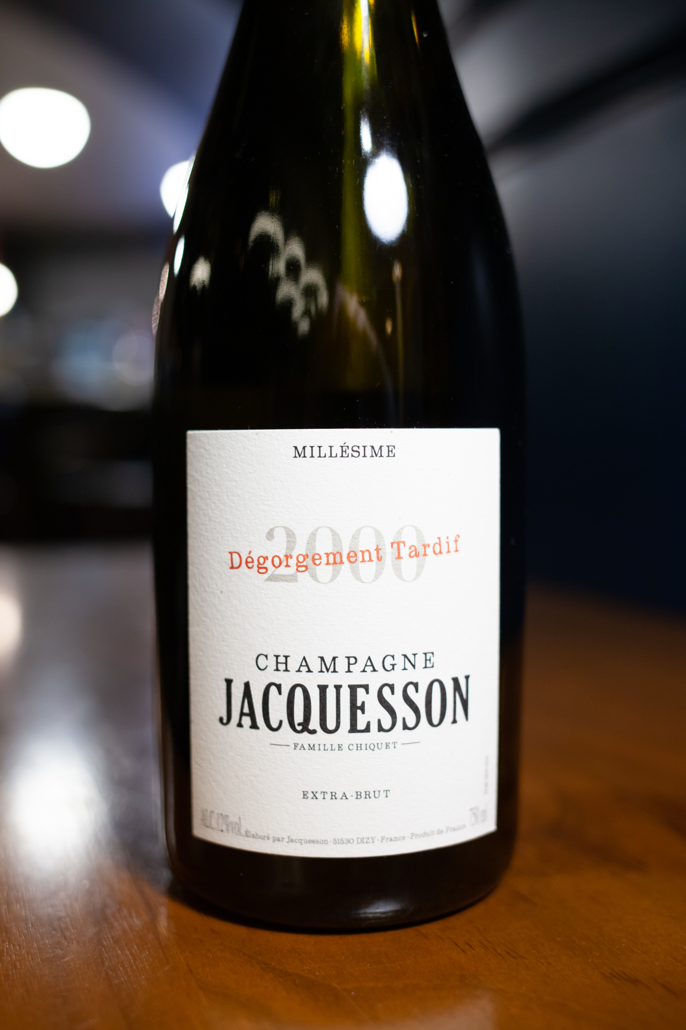 Champagne Jacquesson 'Millesime,' 2000